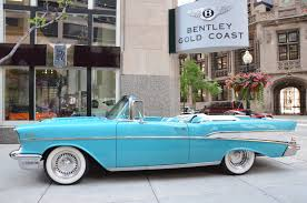 turquoise bentley 1957 chevrolet belair stock gc1527b for sale near chicago il