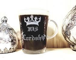 his and mug his lordship mug etsy