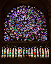 Glass Rose File Stained Glass Rose Windows In Notre Dame De Paris October