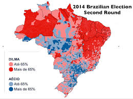 Map Election by Preliminary Observations On Brazil U0027s 2014 Presidential Election