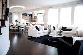 black and white doesn t mean dull sensational color black and white living room