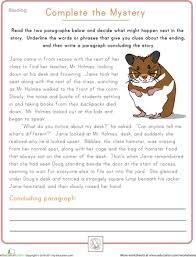 free worksheets reading comprehension worksheets kids free