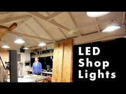 keystone led shop light led shop lights with reflector shrouds rockler woodworking and