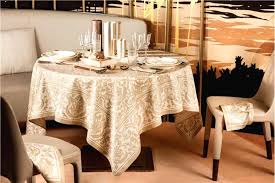 dining room table cloth saint tropez sand beige fine rench tablecloth by beauville