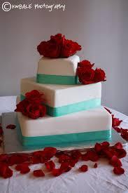 three tier red velvet tiffany blue wedding cake may 30th 2015