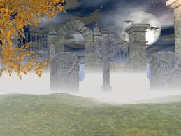 halloween background templates free free graveyard backgrounds for powerpoint miscellaneous ppt