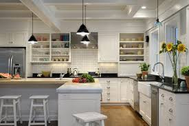 l shaped kitchen with island kitchen farmhouse with addition