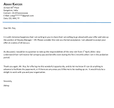 formal acceptance letterinternship acceptance letter 10