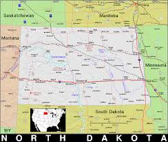 Map South Dakota Nd North Dakota Public Domain Maps By Pat The Free Open
