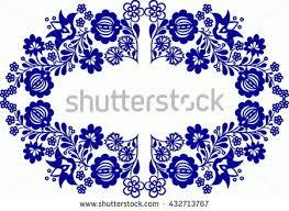 folk ornaments stock vector 308108546