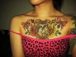 23 best girly tattoos chest tribal image images on pinterest