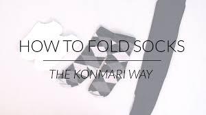 marie kondo tips how to fold socks u0026 stockings konmari method by marie kondo