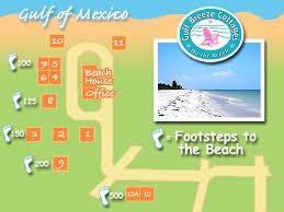 Sanibel Island Florida Map by Gulf Breeze Cottages Grounds Map U2013 Gulf Breeze Cottages On The Beach