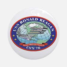 uss ronald ornament cafepress