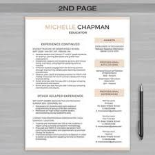 Resume Templates Teacher A Resume Template That U0027s Professional And Cute Love This