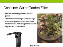 Aquascape Filter Container Water Garden Filter Aquascape Pond Supplies