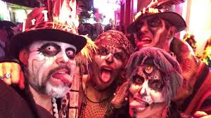 best halloween video on bourbon street french quarter new orleans
