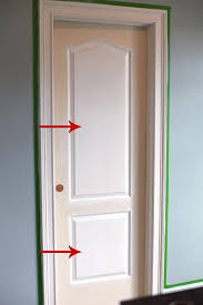 How To Paint An Interior Door Painting Trim And The Way We Paint Interior Doors Bower Power