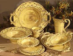 intrada italian ceramic honey dinnerware pieces sold individually