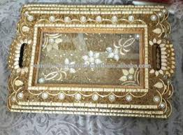 wedding serving trays decorated serving tray set wedding decoration tray