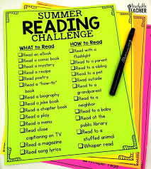 Challenge How To Free Summer Reading Challenge Summer Reading Lists Reading