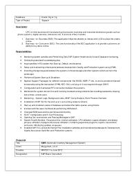 Sap Resume Examples by Download Sap Basis Administration Sample Resume