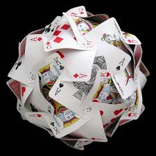 Playing Card Wedding Invitations Card Constructions This Is An Idea For A Classroom Activity To
