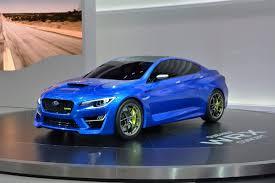 subaru cars 2013 subaru viziv and wrx concepts fill subaru u0027s frankfurt stand