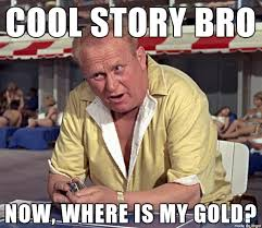 Cool Story Meme - goldfinger cool story meme on imgur