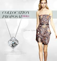 gold necklace dress images New small accessories magic cube necklace short design chain gold jpg
