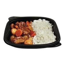 boeuf cuisiné mets cuisiné boeuf bourguignon et riz petit