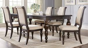 westerleigh oak 5 pc rectangle dining room dining room sets dark
