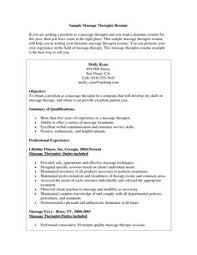 Sample Perfect Resume by Massage Therapist Resume Sample My Perfect Resume Massage