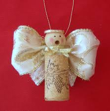 caroling cork angel crafts pinterest cork angel and craft