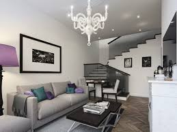 modern living room furniture ideas ocean view beige sofa yellow