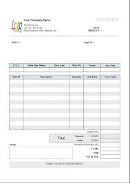 898216275964 travel bill receipt word proforma invoice meaning