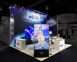 digital photo booth a compact retail floor with an impactful display booth design