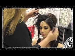 practically teaches us pakistani haire style indian pakistani asian bridal hair style tikka dupatta setting