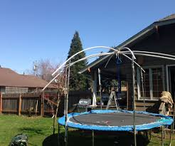waterproof trampoline top for the winter 3 steps