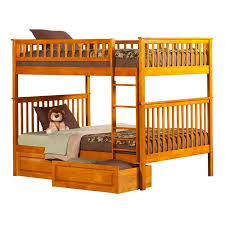 Woodland Bunk Bed Atlantic Furniture Woodland Storage Bunk Bed In