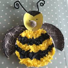 paper plate bumble bee a simple kids craft blissful domestication