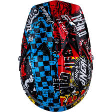 motocross kids helmet oneal 3 series kids wild motocross helmet mx childs youth junior