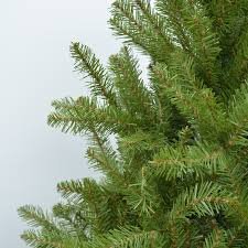 accessories artificial fir tree 7ft tree frosted
