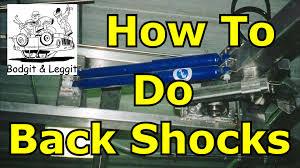 Garage 1217 by How To Do Back Shocks Fiat Doblo Bodgit And Leggit Garage Youtube