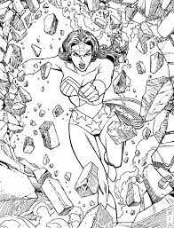 wonder woman coloring pages for adults getcoloringpages com