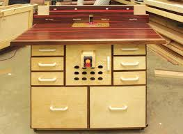 custom router table canadian woodworking magazine