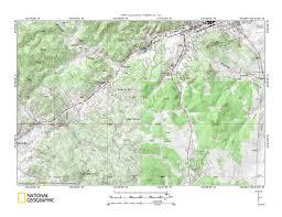 Beaver Creek Colorado Map by French Creek Beaver Creek Drainage Divide Area Landform Origins