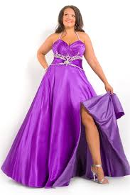 purple gown dressed up