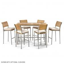 Teak Stainless Steel Outdoor Furniture by Sets Containing Vogue Teak And Stainless Steel Rectangular Patio B