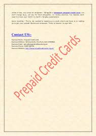 cheapest prepaid card are feeling suffocated the loan of credit card get prepaid ones
